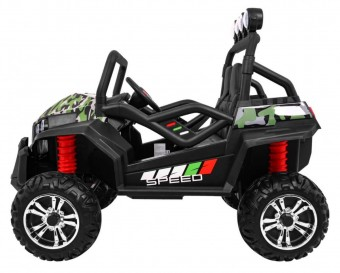 MASINUTA ELECTRICA PENTRU COPII UTV 4X4 BUGGY S2588 New Face Lift, Military